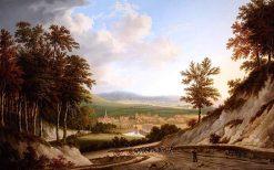 View of Harting | Joseph Francis Gilbert | oil painting