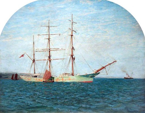 An Iron Barque | Philip Thomson Gilchrist | oil painting