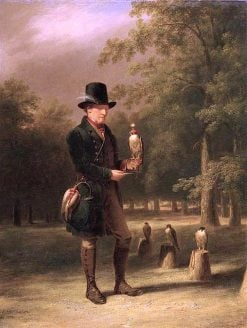 A Falconer | James Giles | oil painting