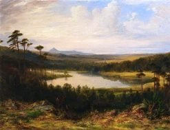 A Lake at Haddo | James Giles | oil painting