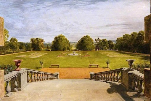 A Sketch of Lord Haddos Terrace | James Giles | oil painting
