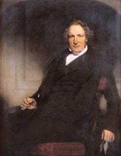 Dr William Keith   James Giles   oil painting