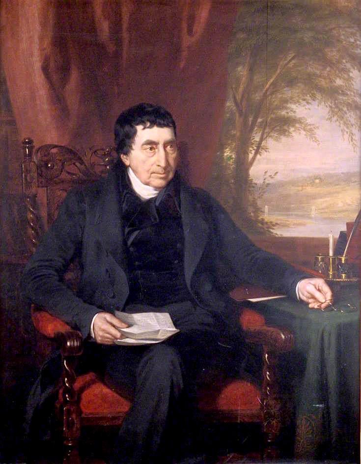 Reverend George Morison | James Giles | oil painting
