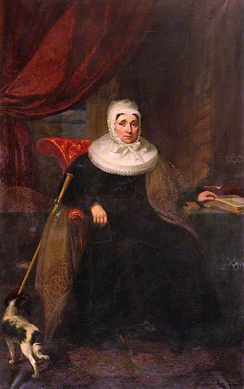 The Honourable Mrs Gordon of Fyvie | James Giles | oil painting