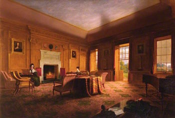 The Interior of the Drawing Room at Haddo | James Giles | oil painting