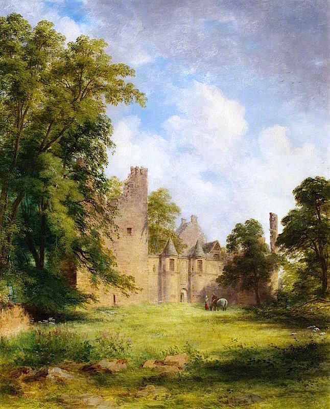 Tolquhon Castle | James Giles | oil painting
