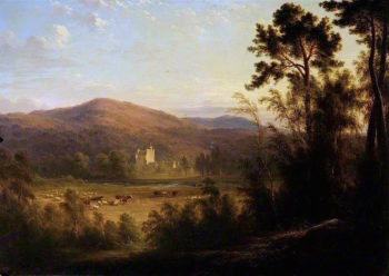 View of a Scottish Castle | James Giles | oil painting