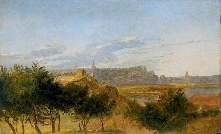 View of Aberdeen from the South | James Giles | oil painting