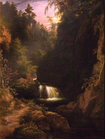 Waterfall | James Giles | oil painting