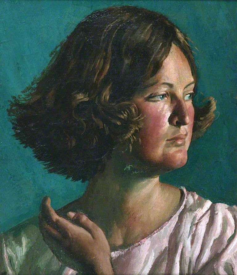 Catherine | Colin Unwin Gill | oil painting