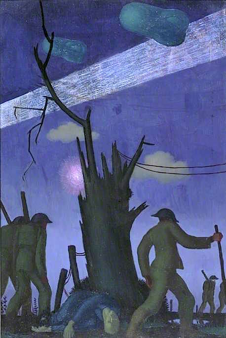 Evening after a Push | Colin Unwin Gill | oil painting