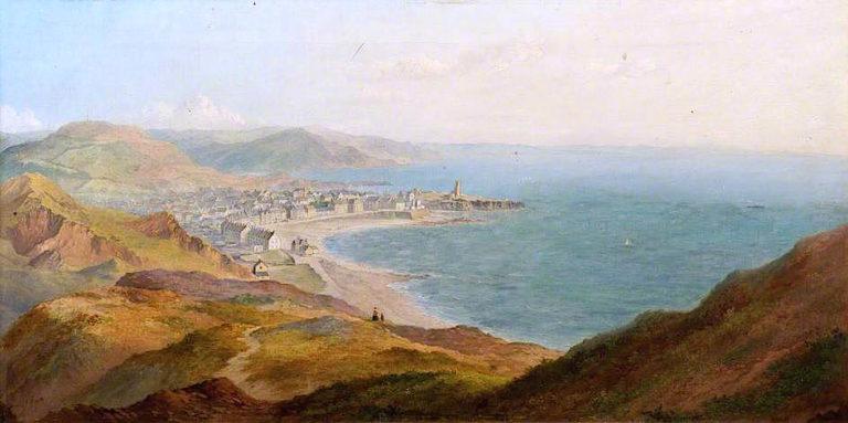 Aberystwyth   Edmund Marriner Gill   oil painting