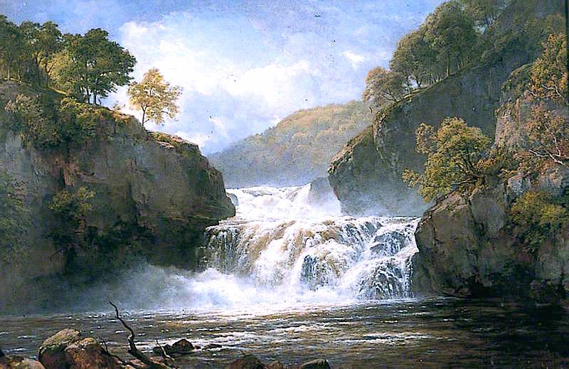 Falls in the River Clyde