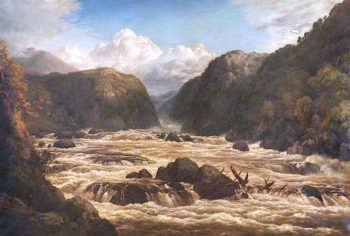 River with Rapids | Edmund Marriner Gill | oil painting