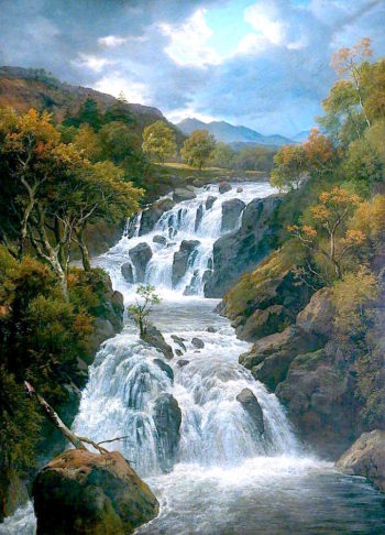 The Waterfall | Edmund Marriner Gill | oil painting