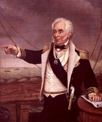 Sir Charles Napier | Edmund Ward Gill | oil painting
