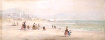 Swansea Bay | William Ward Gill | oil painting