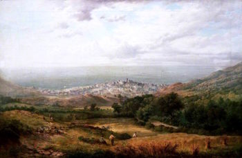 View of Aberystwyth | William Ward Gill | oil painting