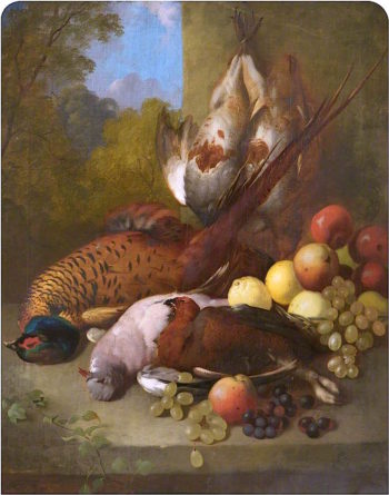 Still Life with Game and Fruit | William Ward Gillard | oil painting