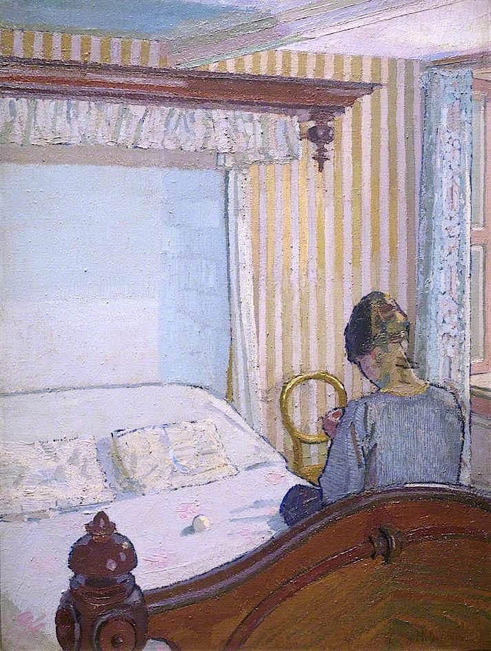Interior | Harold Gilman | oil painting