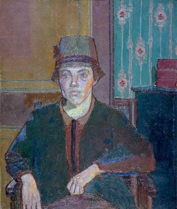 Portrait of a Lady (Miss Fletcher) | Harold Gilman | oil painting