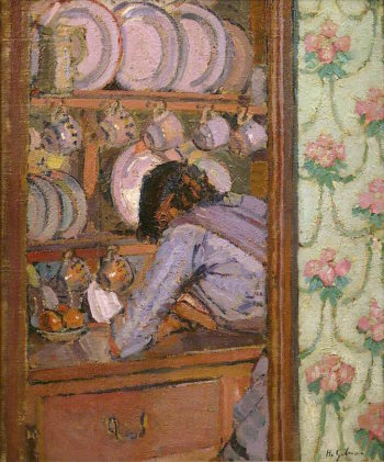 Shopping List | Harold Gilman | oil painting