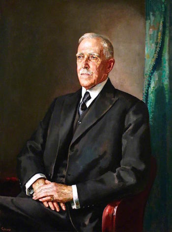 Sir John Herbert Parsons | John William Gilroy | oil painting