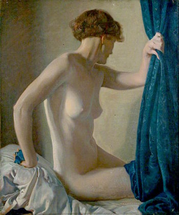 Female Nude | Louis Ginett | oil painting