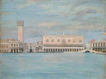 Little Venice | Louis Ginett | oil painting