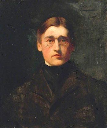 Portrait | Louis Ginett | oil painting