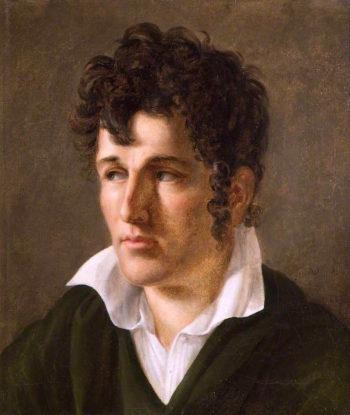 Francois - René de Chateaubriand | Anne-Louis Girodet de Roussy-Trioson | oil painting