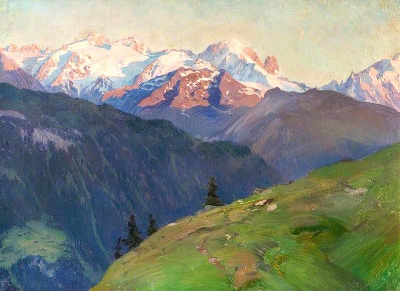 Mont Blanc near Tête Noir