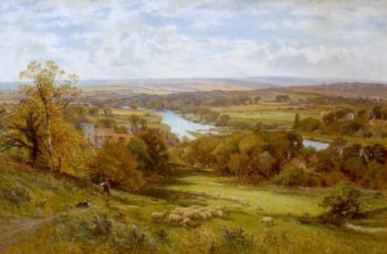 Landscape | Alfred Augustus Glendening | oil painting