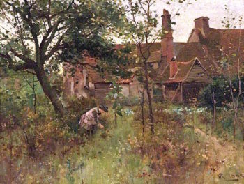 The Happy Hours of Childhood | Alfred Augustus Glendening | oil painting