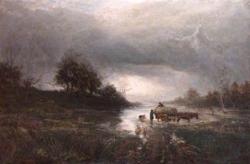 Storm Approaching | William Glover | oil painting