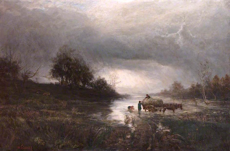 Storm Approaching   William Glover   oil painting