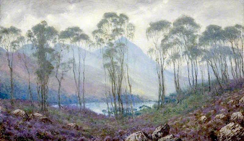 A Scottish Landscape | Sigismund Christian Hubert Goetze | oil painting