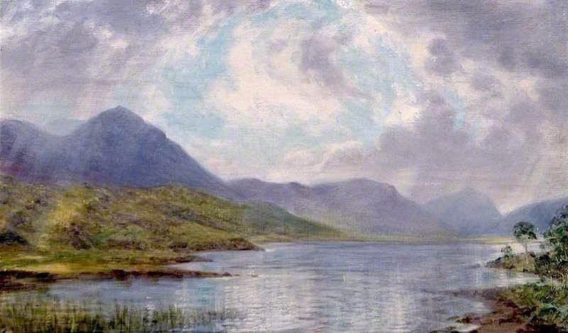 Loch Achnasheen | Sigismund Christian Hubert Goetze | oil painting