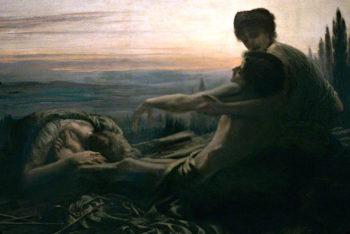 St Sebastian | Sigismund Christian Hubert Goetze | oil painting