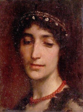 Julia | Charles Gogin | oil painting