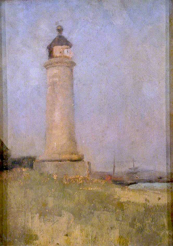 Kingston Buci Lighthouse | Charles Gogin | oil painting
