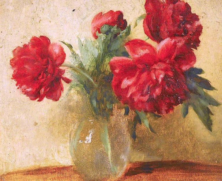 Peonies | Charles Gogin | oil painting