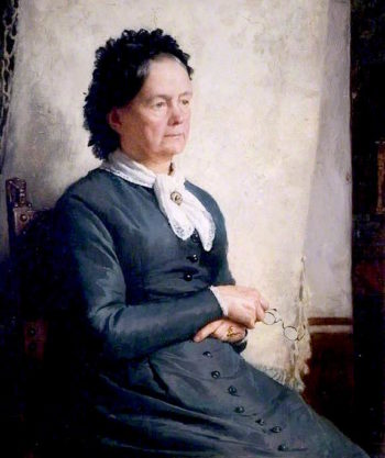 Portrait of the Artists Mother | Charles Gogin | oil painting