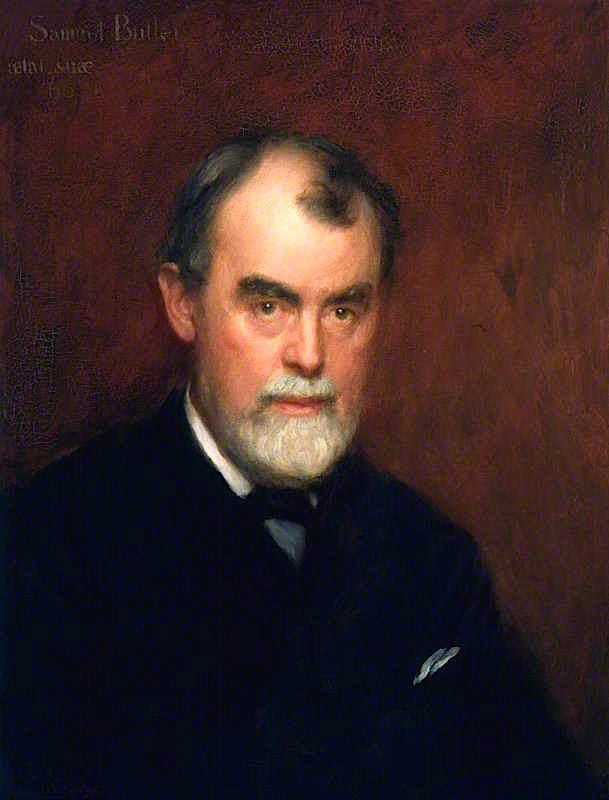 Samuel Butler | Charles Gogin | oil painting