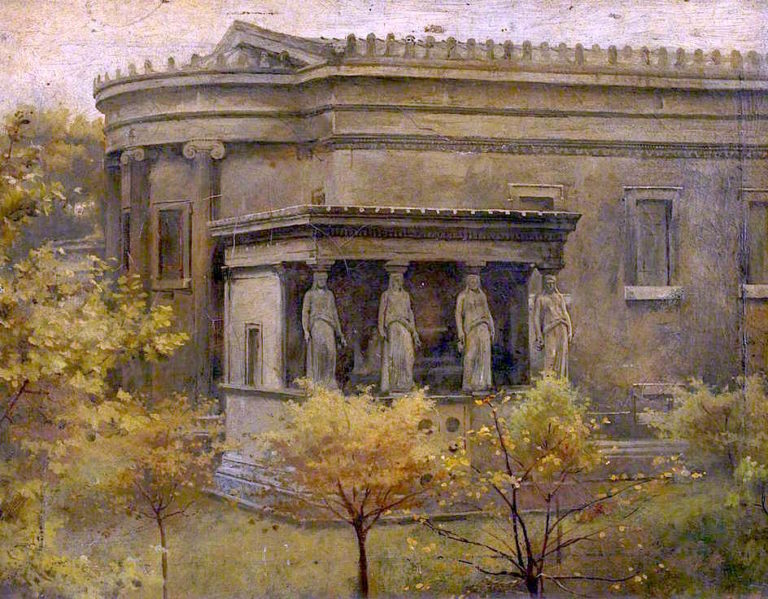 St Pancras Church | Charles Gogin | oil painting