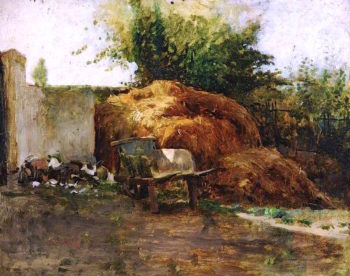 The Dung Heap | Charles Gogin | oil painting