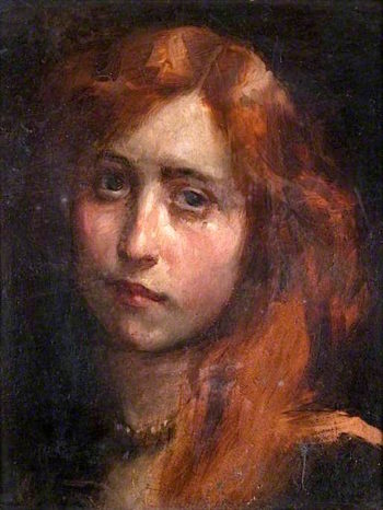 Thelma   Charles Gogin   oil painting