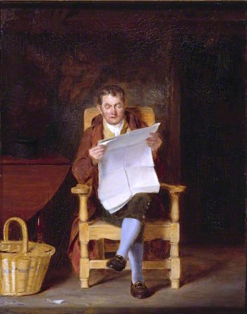 A Man Reading | Thomas Sword Good | oil painting