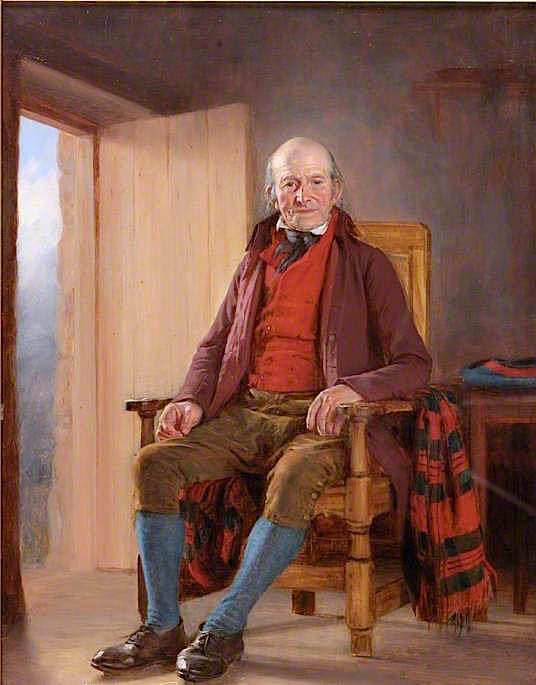 A Northumbrian Farmer | Thomas Sword Good | oil painting