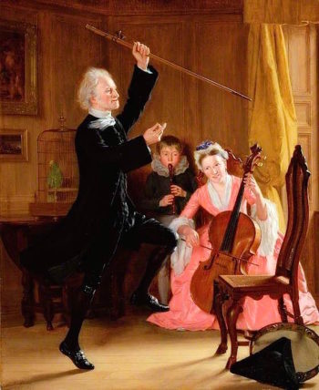 The Power of Music | Thomas Sword Good | oil painting
